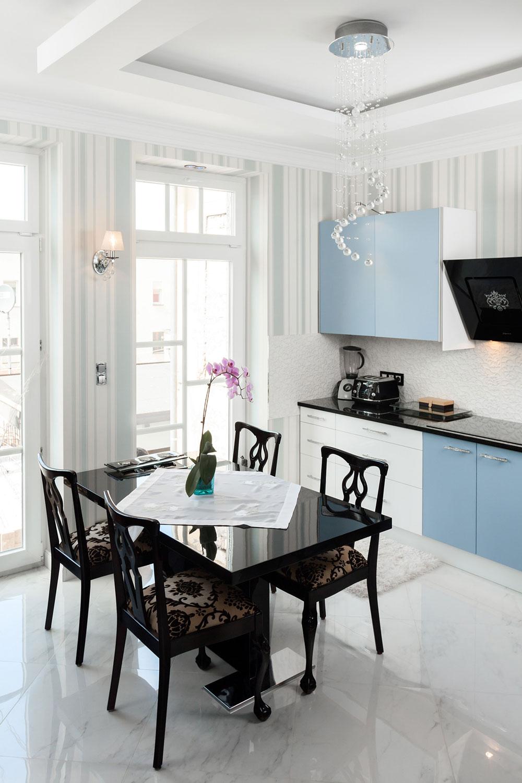 fotografia reklamowe wnetrza apartamenty mietowy kuchnia