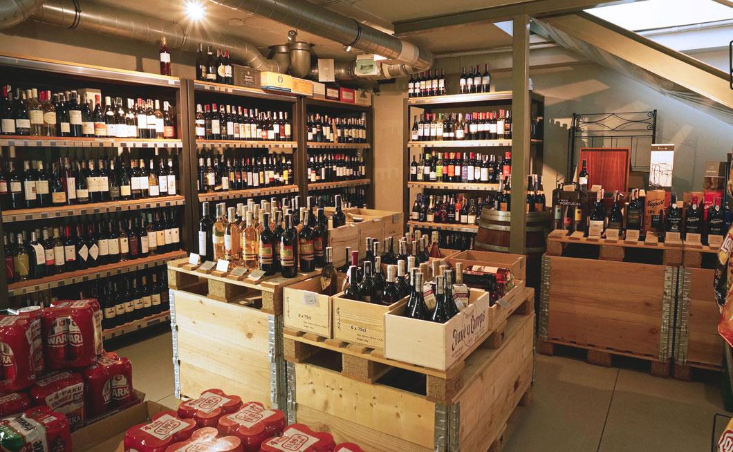 meta spirit and wine store zdjecie wnetrz sklepu