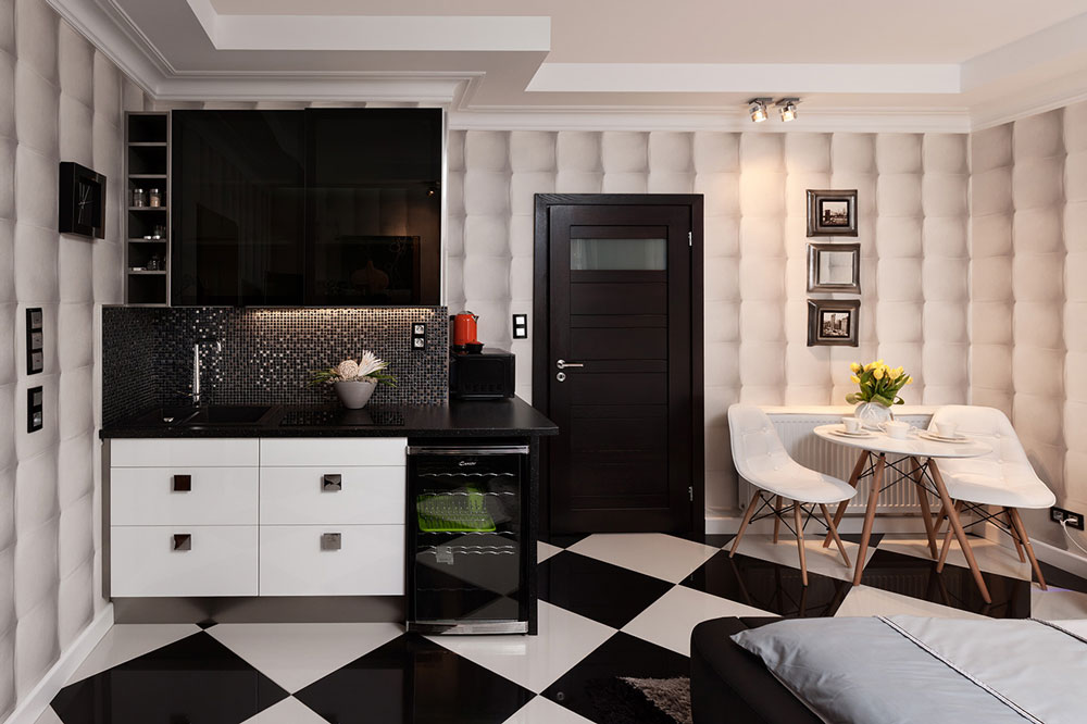 zdjecia reklamowe wnetrze apartamenty botique biały