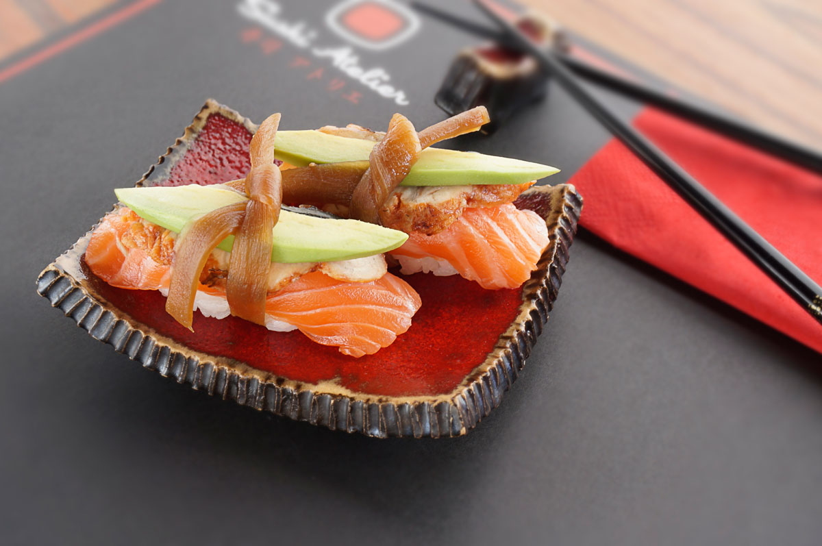 fotografia kulinarna restauracja sushi