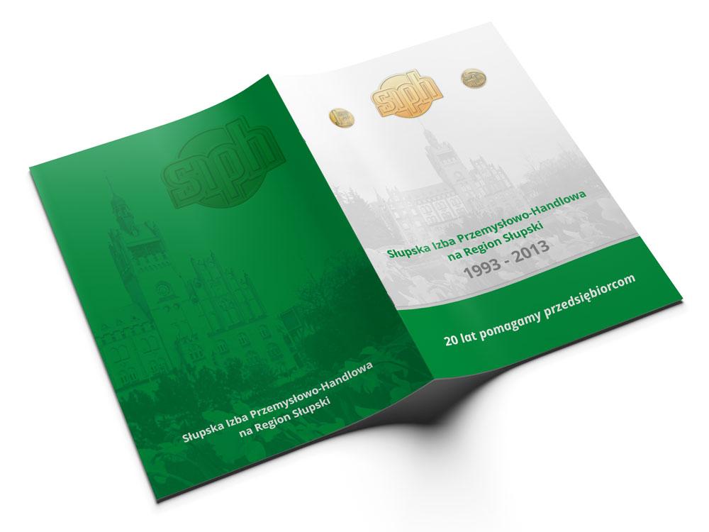 SIPH - okładka publikacji kreda 350g folia mat - projekt i druk